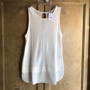 J Crew ❤️Sleeveless layered top.  S